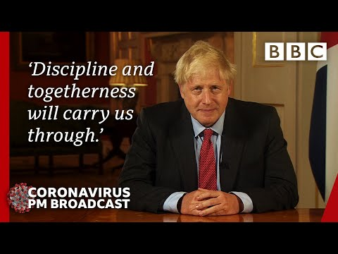Boris Johnson speaks to the country as Covid rules tighten