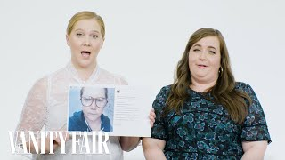Amy Schumer and Aidy Bryant Explain Their Instagram Photos | Vanity Fair
