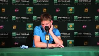 David Goffin QF Press Conference