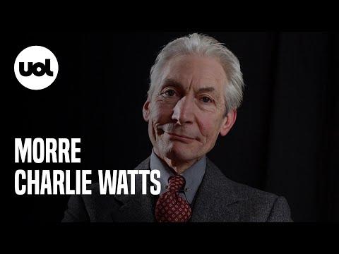 Morre Charlie Watts, bateirista dos Rolling Stones, aos 80 anos