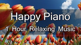 Relaxing Happy Piano Music - BGM for Study Music