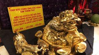 Phúc XO, người đeo 13kg vàng trả lời về thử thách bê cóc vàng, 8 người bê được cho luôn