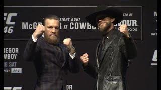 UFC 246: McGregor vs Cowboy Pre-fight Press Conference
