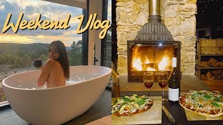 Romantic Weekend Getaway feat. the most epic Air BnB