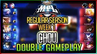 Chou Double Gameplay - MPL S2 Regular Season (Week 1) | Mobile Legends | ICON vs Bigetron SG