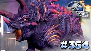 NEW BOSS MEGA TRIKE!!!    Jurassic World - The Game - Ep354 HD
