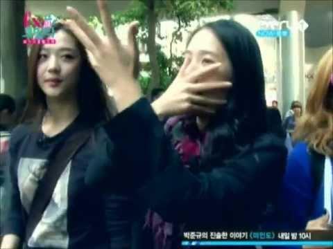 Krystal's body wave feat. f(x) lucifer