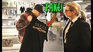 RETURNING FAKE GUCCI TO THE GUCCI STORE!! (IT ACTUALLY WORKS!)