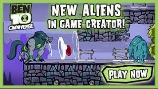 Ben 10 Omniverse: New Aliens in Game Creator - Ben 10 Games