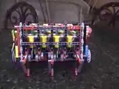 Lego Mindstorms NXT Pneumatic V8