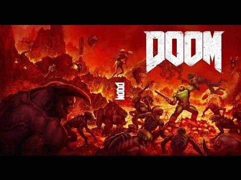 DOOM - Réalisation en accéléré de la jaquette intérieure - YouTube