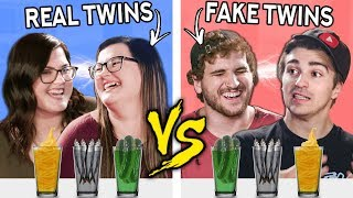 We Try The TWIN TELEPATHY Challenge With REAL TWINS