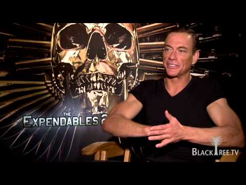 The Expendables 2 Jean Claude VanDamme Interview - YouTube