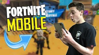 FAST MOBILE BUILDER on iOS / 1205+ Wins / Fortnite Mobile + Tips & Tricks!