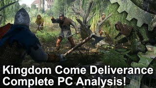Kingdom Come: Deliverance - PC vs PS4 Pro Graphics Comparison