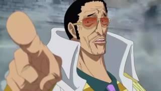 Chó đẻ Akainu suýt chết với Garp