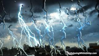 Thunderbolt & Lightning, Very Very (Soothing) | Rain and Thunder Sounds for Sleeping | White Noise