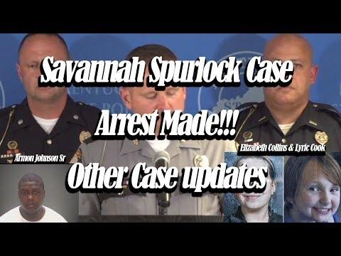 Savannah Spurlock Arrest made. - arrest made in Cleveland quadruple homicide - Lyric and Elizabeth