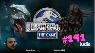 İndominus Rex vs 3 Legendary Hybrid - Jurassic World # 191