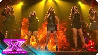 """Fifth Harmony's """"Stronger"""" - THE X FACTOR USA 2012"""