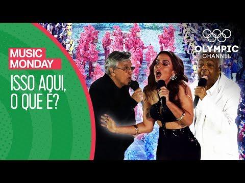 Isso Aqui, O Que É? - Gilberto Gil, Caetano Veloso & Anitta @Rio 2016 | Music Monday