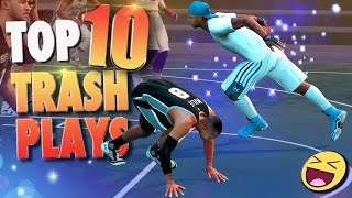 "NBA 2K16 TOP 10 ""TRASH"" PLAYERS & PLAYS Of The Week!"