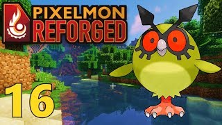 [16] Eevee Gym Plans and Shiny HootHoot! (Pixelmon Reforged Gameplay)