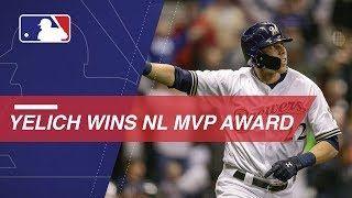 Christian Yelich named the 2018 National League MVP