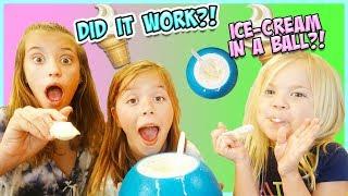 SMeLLY BeLLY TV VS KICK BALL ICE-CREAM MAKER!!