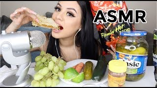 i tried MOST SATISFYING ASMR FOOD SOUNDS LOL