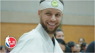 Steph Curry gets a hero's welcome in Japan   2019 NBA Offseason