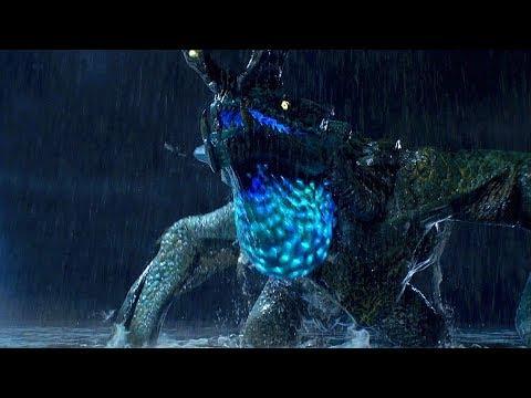 Cherno Alpha & Crimson Typhoon vs Otachi/Leatherback - Pacific Rim (2013) Movie Clip HD