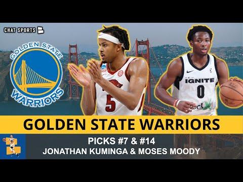 Golden State Warriors Draft Grades: SF Jonathan Kuminga & SG Moses Moody | 2021 NBA Draft