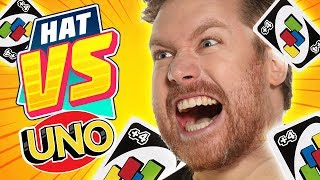 THE MOST COMPETITIVE UNO EVER! [Hat VS #7]