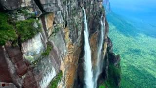Salto Angel - ngắm thác nước cao nhất thế giới từ flycam