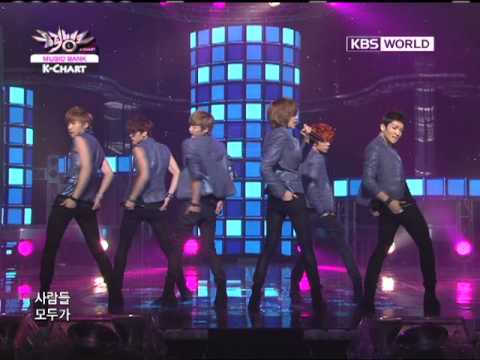 [Music Bank K-Chart] Teen Top - Don't Wear Perfume (2011.08.26)