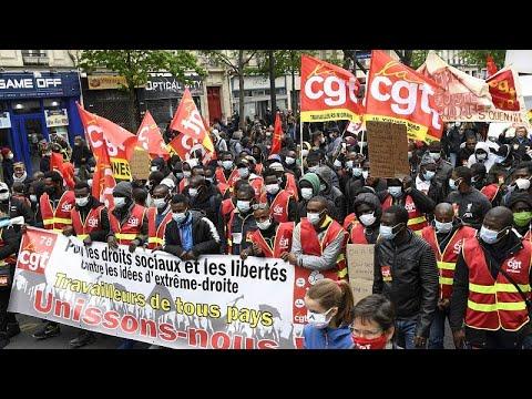 احتفالات واحتجاجات واعتقالات بمناسبة إحياء اليوم العالمي للعمال في أوروبا