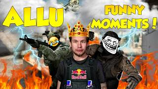 CS:GO - ALLU FUNNY MOMENTS!