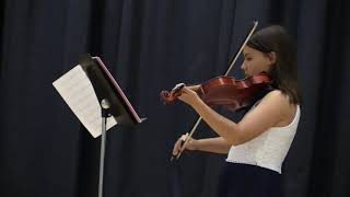 Fianna's Violin Solo at Elementary School Talent Show