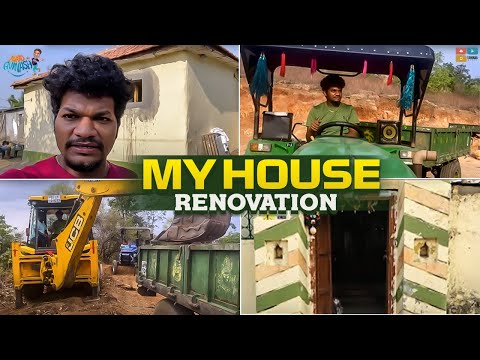 Jabardasth Mukku Avinash shares his house renovation video