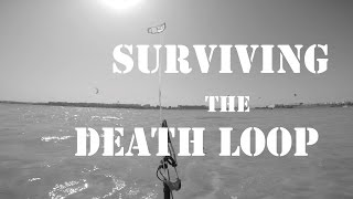 Surviving the Death Loop. Kiteboarding tutorial on how to stop an accidental auto-kiteloop.