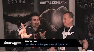 Mortal Kombat X – Angry Interview 2014