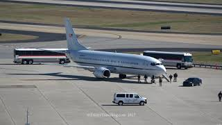 4K   Justice 737 Prisoner Transport Aircraft   Atlanta