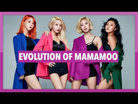 THE EVOLUTION OF MAMAMOO | 2014 - 2019