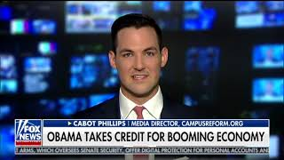 Liberal Students Admit Trump Is Helping Economy: Cabot Phillips on Fox News