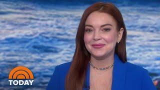 Lindsay Lohan Talks 'Beach House' And Her Mentor, Oprah | TODAY