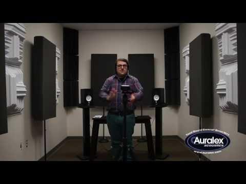 Auralex Diffusor Listening Experiment: T'FUSOR vs. GEOFUSOR