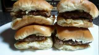 How to make White Castle Sliders - Easy Cooking!