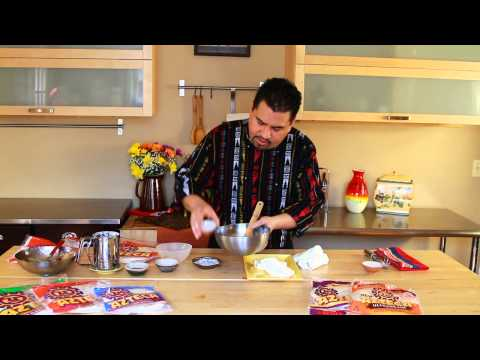 Azteca Food's Chef Gustavo Presents Baked Apple Puffs