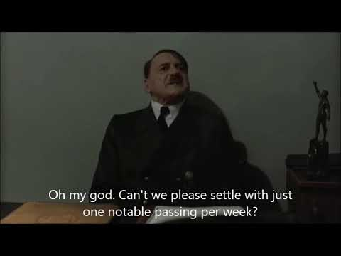 Hitler is informed Jim Bouton has died